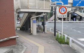 横浜の弁護士 横浜よつば法律税務事務所への神奈川駅からの道順2