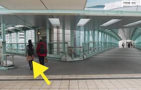 横浜の弁護士 横浜よつば法律税務事務所への横浜駅からの道順6