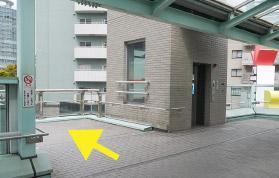 横浜の弁護士 横浜よつば法律税務事務所への横浜駅からの道順8